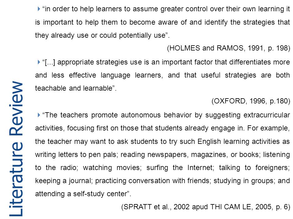 in order to help learners to assume greater control over their own learning it is important to help them to become aware of and identify the strategies that they already use or could potentially use .