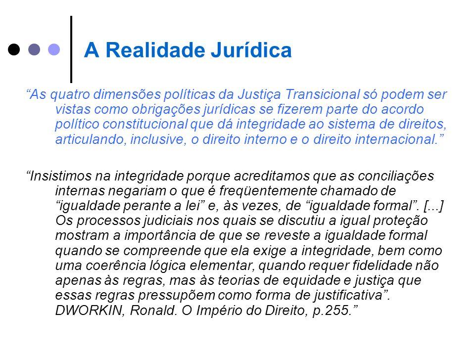A Realidade Jurídica