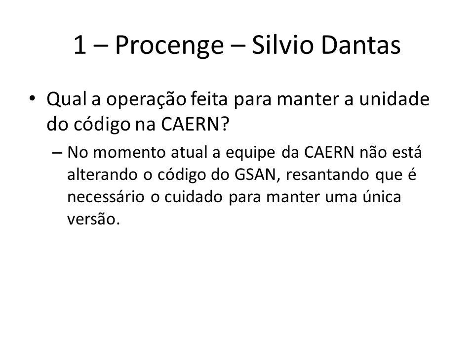 1 – Procenge – Silvio Dantas