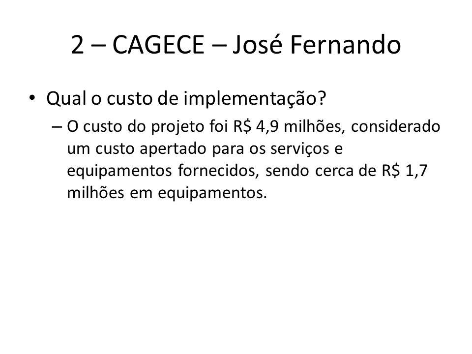 2 – CAGECE – José Fernando