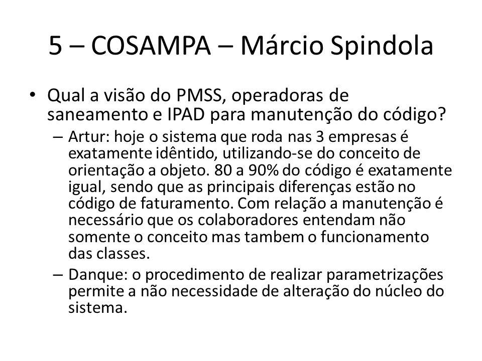 5 – COSAMPA – Márcio Spindola