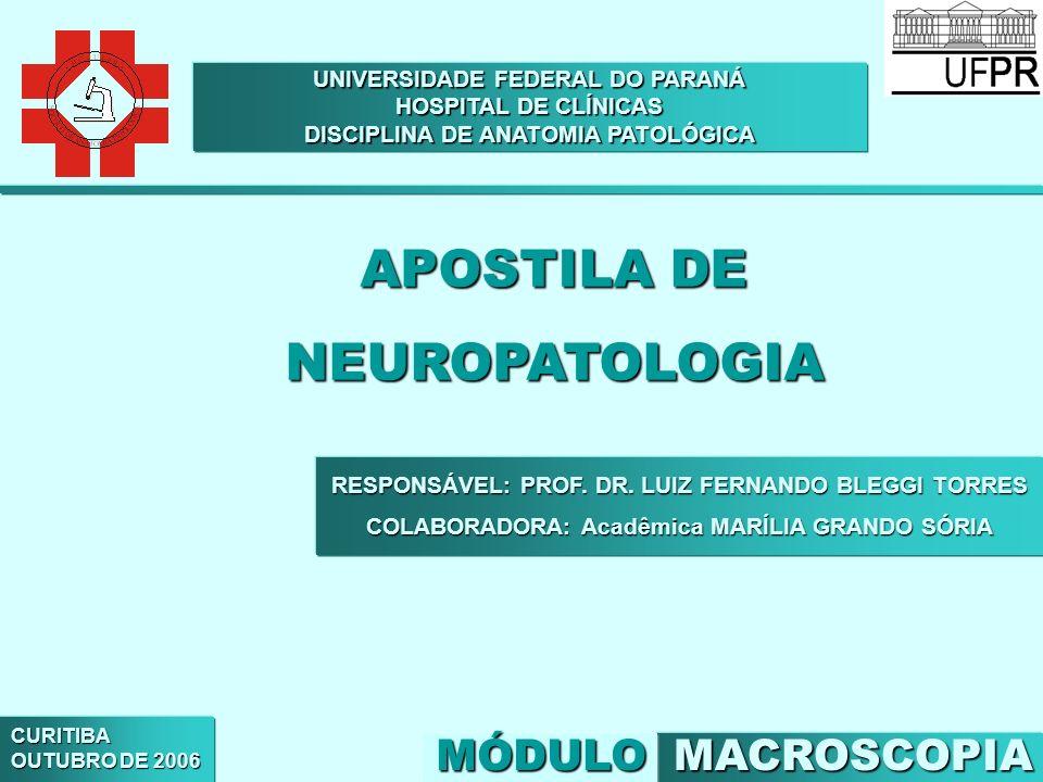 APOSTILA DE NEUROPATOLOGIA