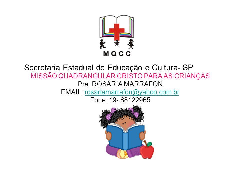 Secretaria Estadual de Educação e Cultura- SP