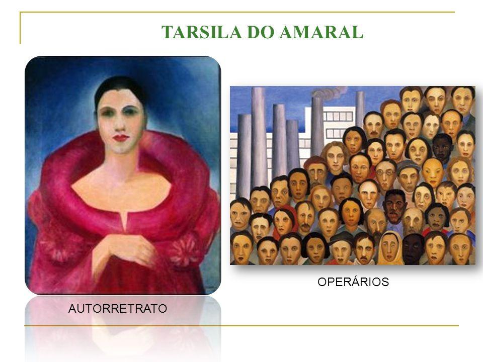 TARSILA DO AMARAL OPERÁRIOS AUTORRETRATO