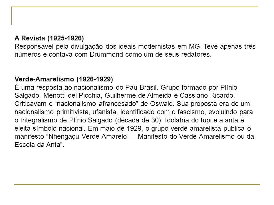 A Revista (1925-1926)