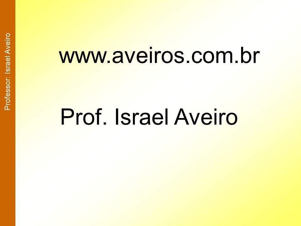 Professor: Israel Aveiro