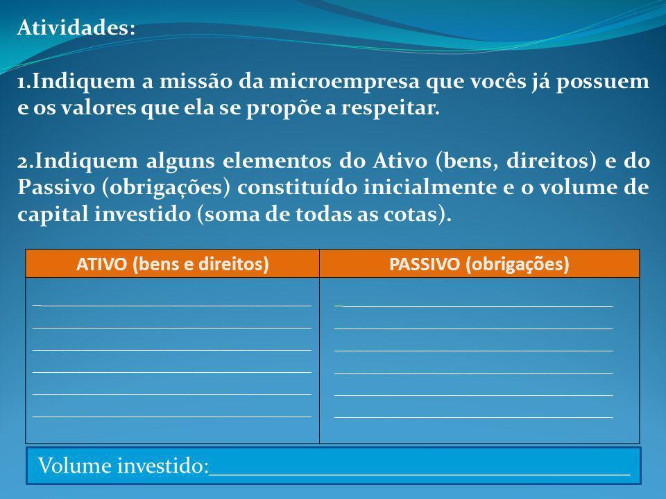 ATIVO (bens e direitos)