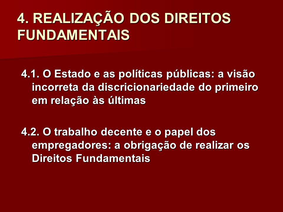 4. REALIZAÇÃO DOS DIREITOS FUNDAMENTAIS