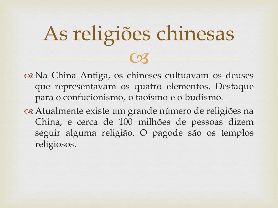 As religiões chinesas