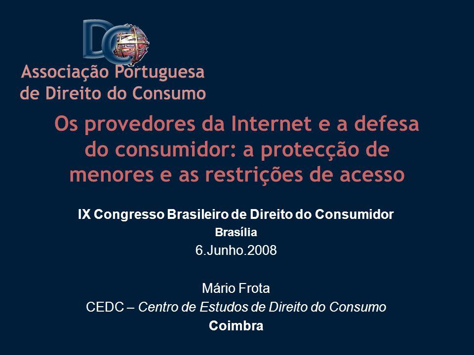 IX Congresso Brasileiro de Direito do Consumidor