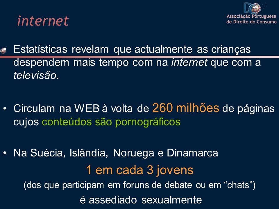 internet 1 em cada 3 jovens