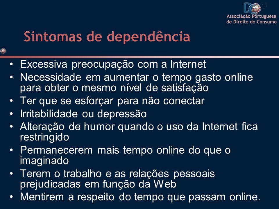 Sintomas de dependência
