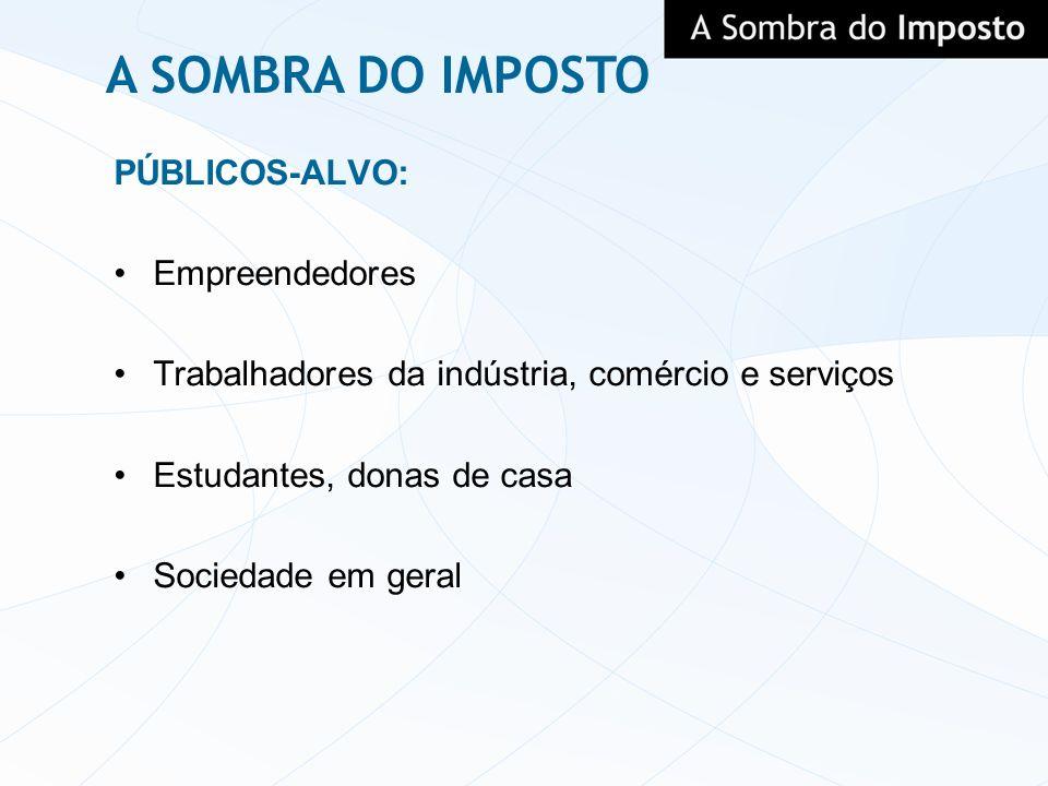 A SOMBRA DO IMPOSTO PÚBLICOS-ALVO: Empreendedores
