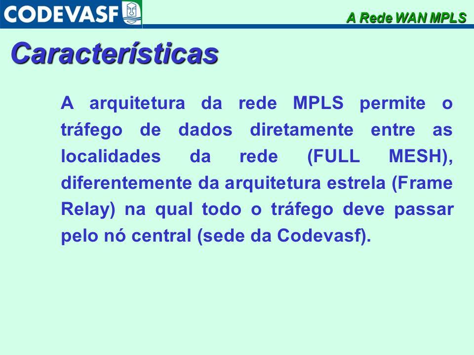 A Rede WAN MPLSCaracterísticas.