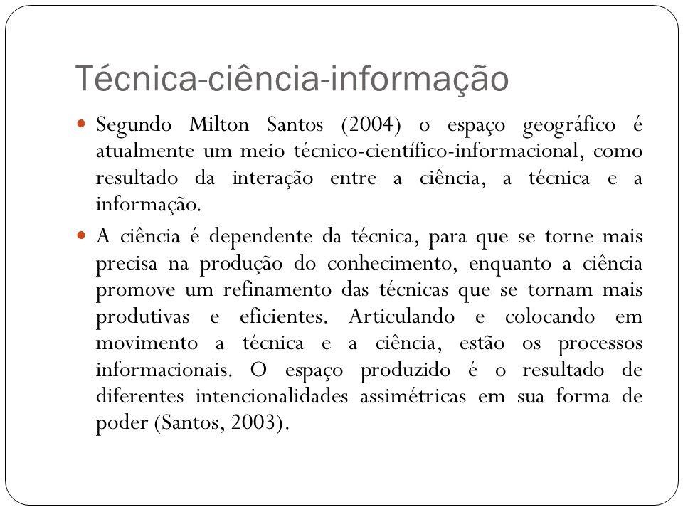 Técnica-ciência-informação