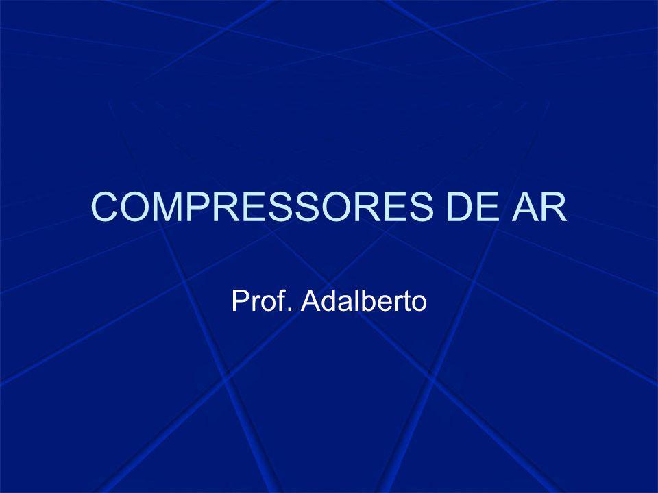 COMPRESSORES DE AR Prof. Adalberto