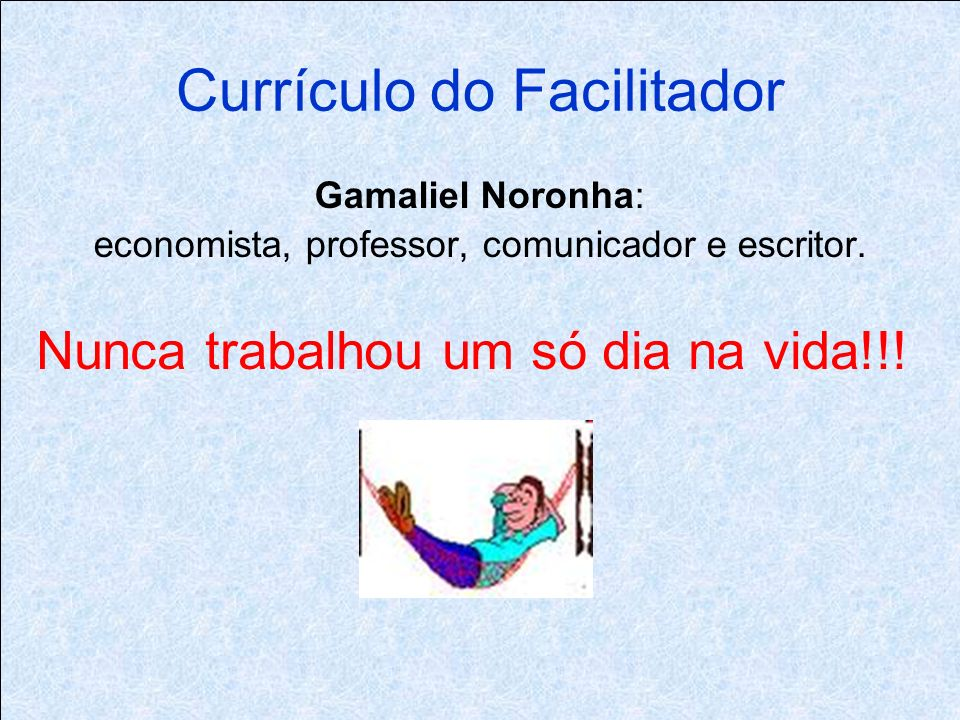 Currículo do Facilitador
