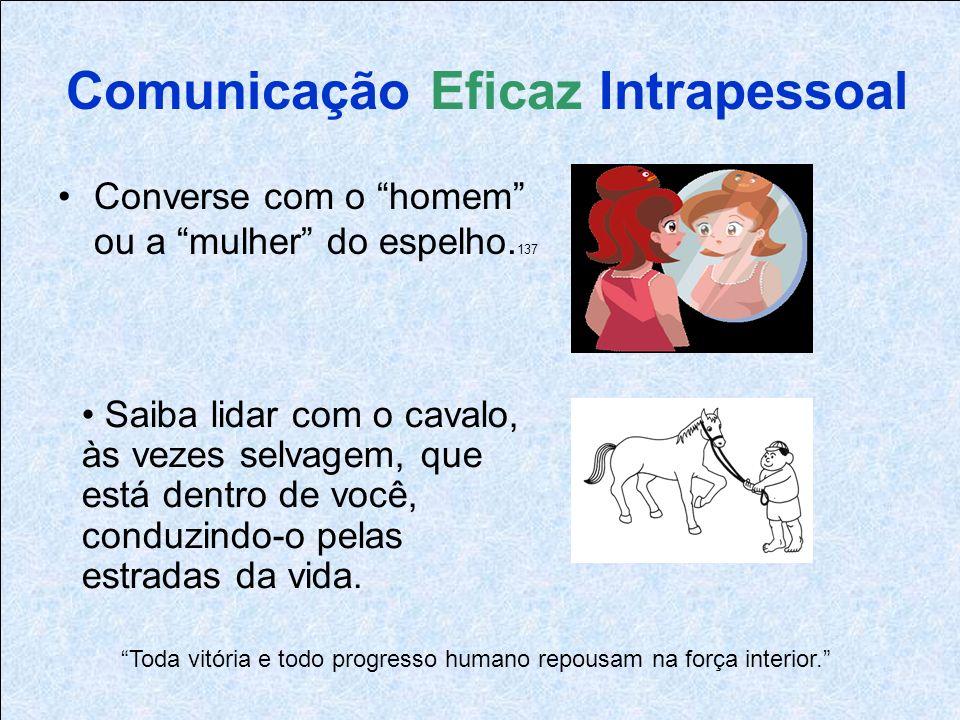 Comunicação Eficaz Intrapessoal