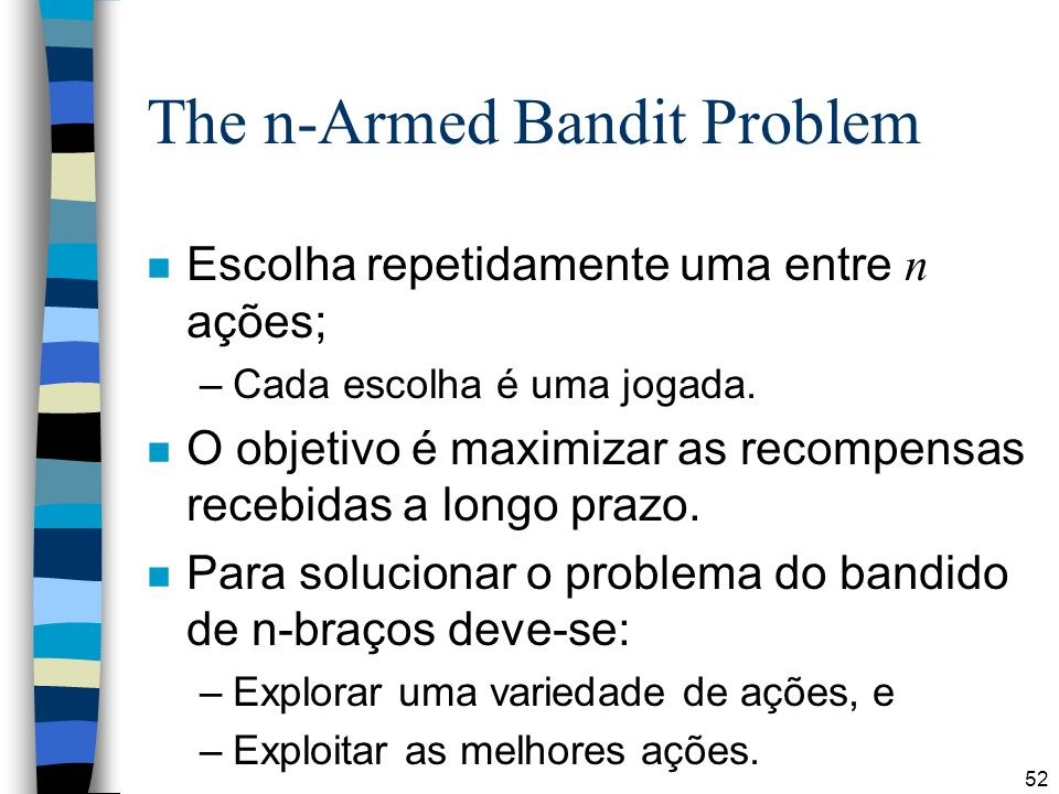 The n-Armed Bandit Problem