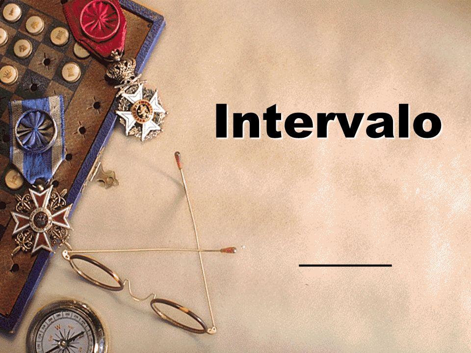 Intervalo _______