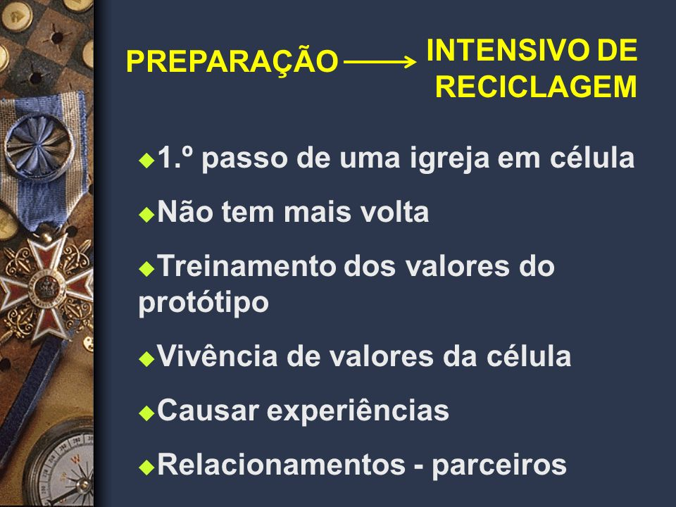 INTENSIVO DE RECICLAGEM
