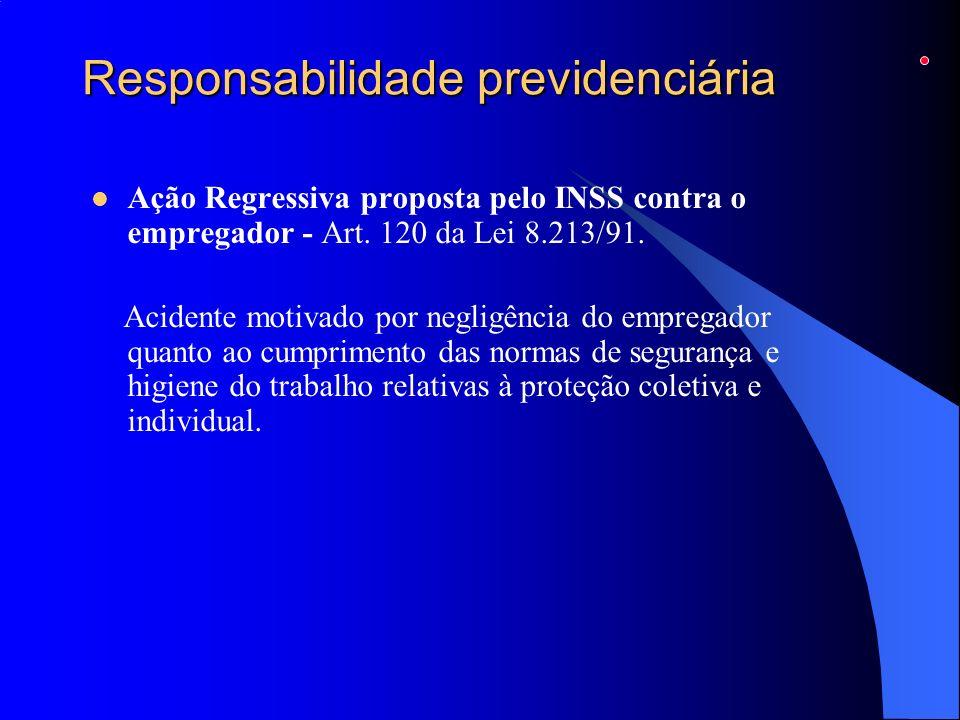Responsabilidade previdenciária