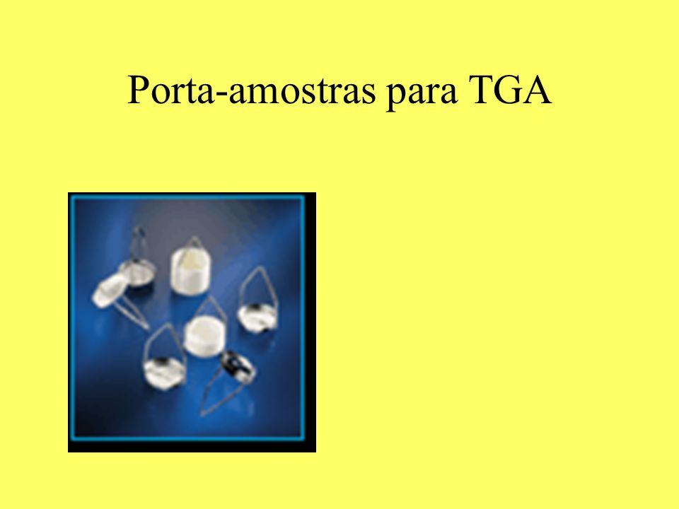 Porta-amostras para TGA