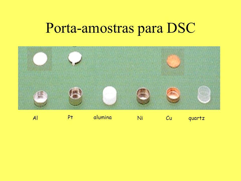 Porta-amostras para DSC