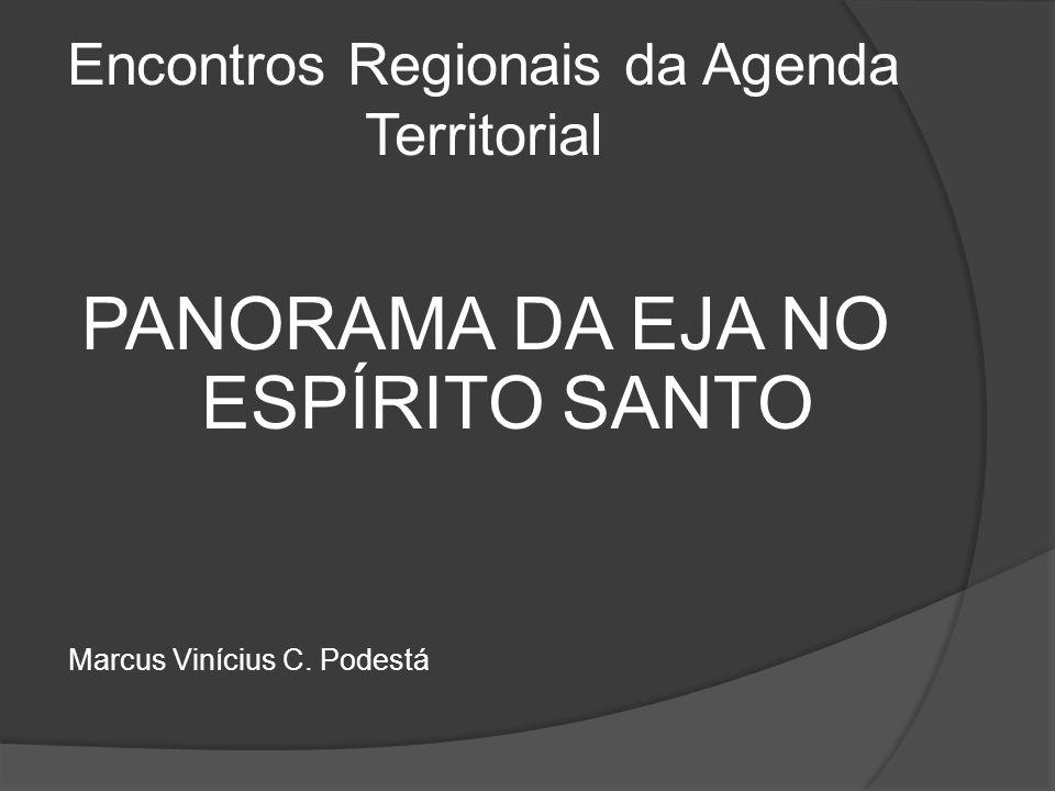 Encontros Regionais da Agenda Territorial