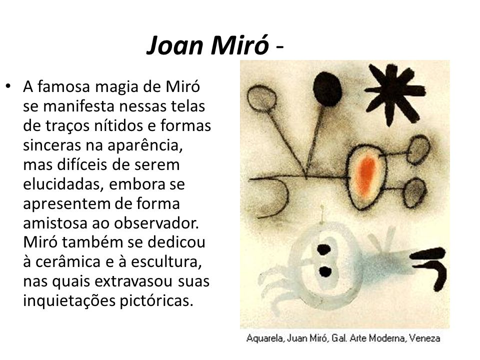 Joan Miró -