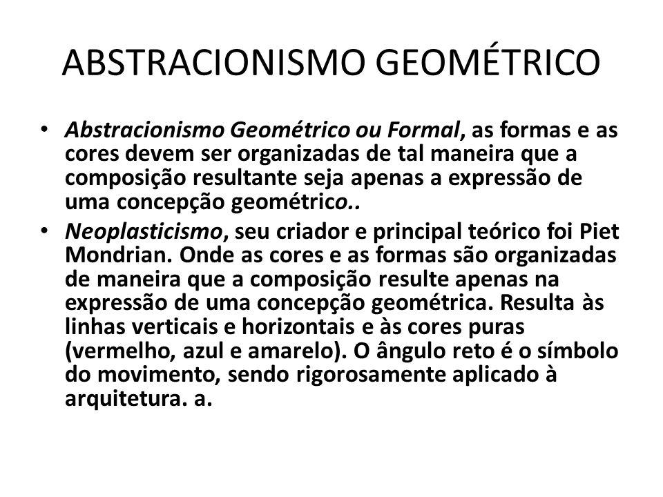 ABSTRACIONISMO GEOMÉTRICO