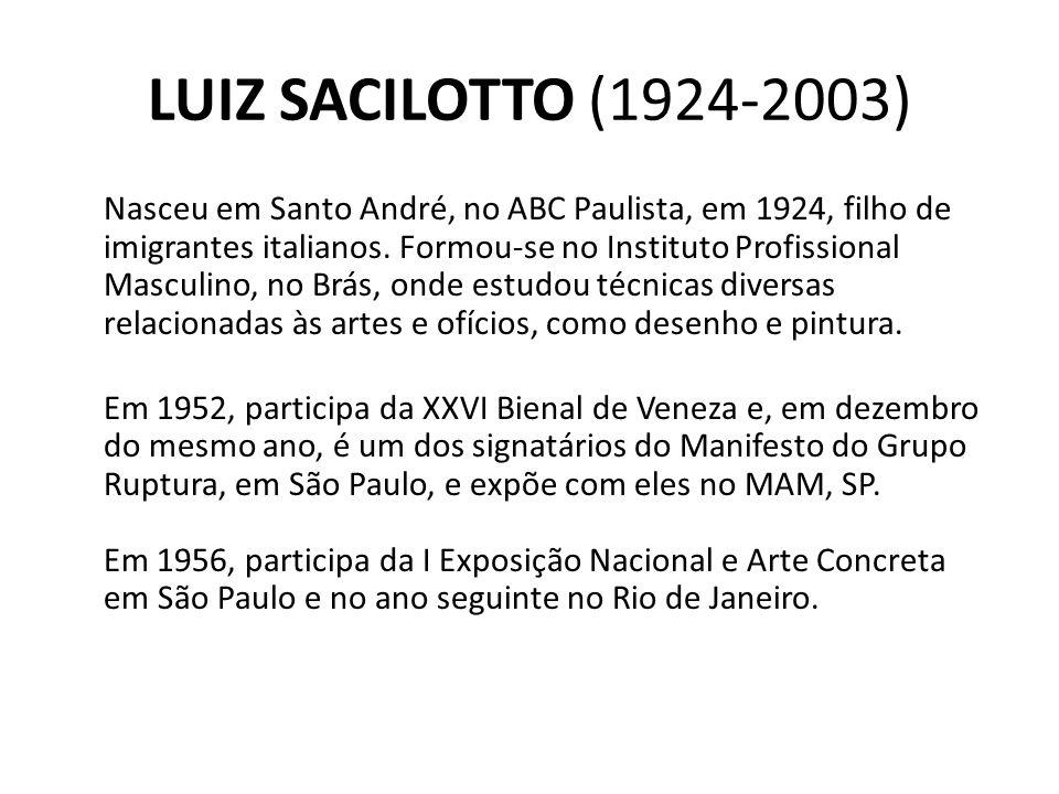 LUIZ SACILOTTO (1924-2003)