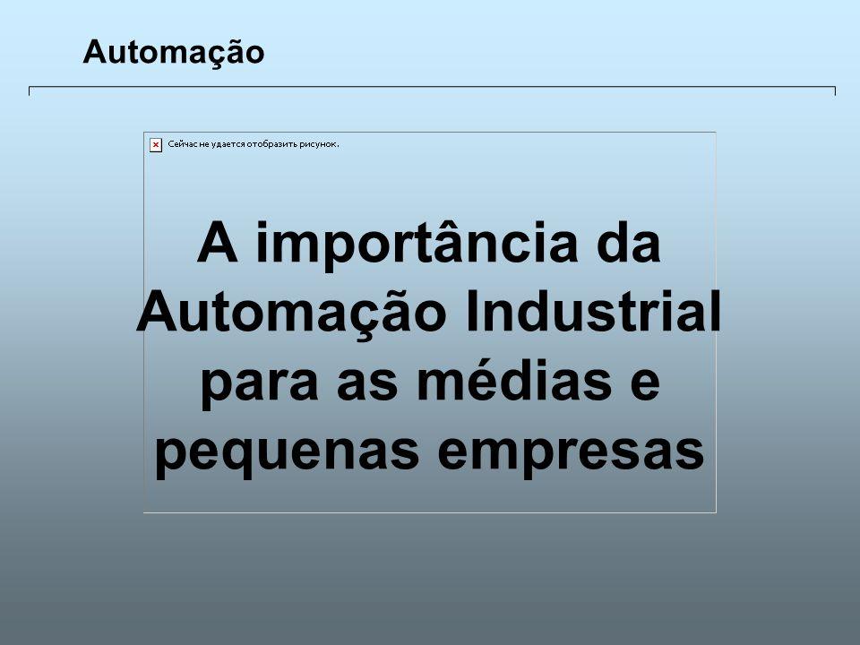 Automação A importância da Automação Industrial para as médias e pequenas empresas