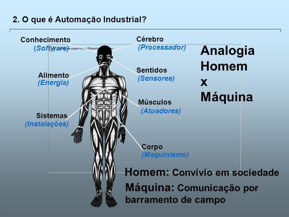Analogia Homem x Máquina Homem: Convívio em sociedade