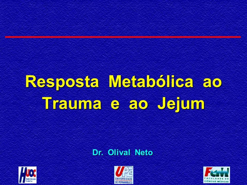 Resposta Metabólica ao Trauma e ao Jejum