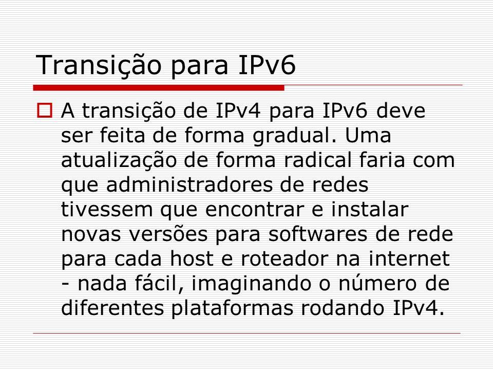 Transição para IPv6