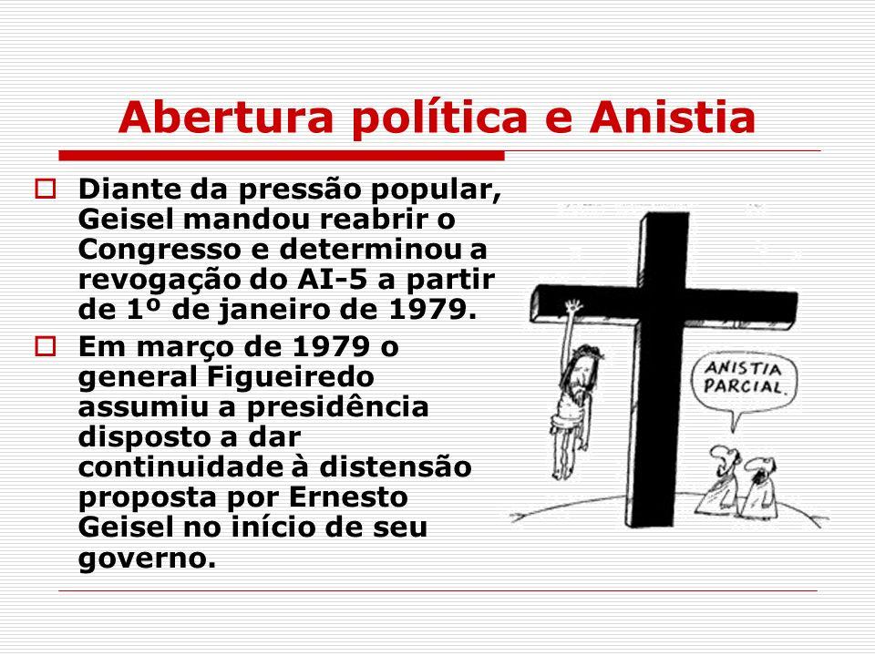 Abertura política e Anistia