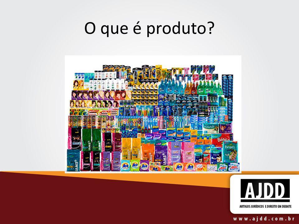 O que é produto