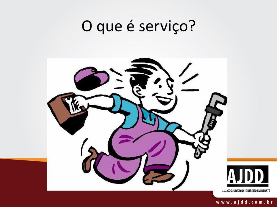 O que é serviço