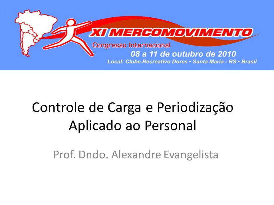 Controle de Carga e Periodização Aplicado ao Personal