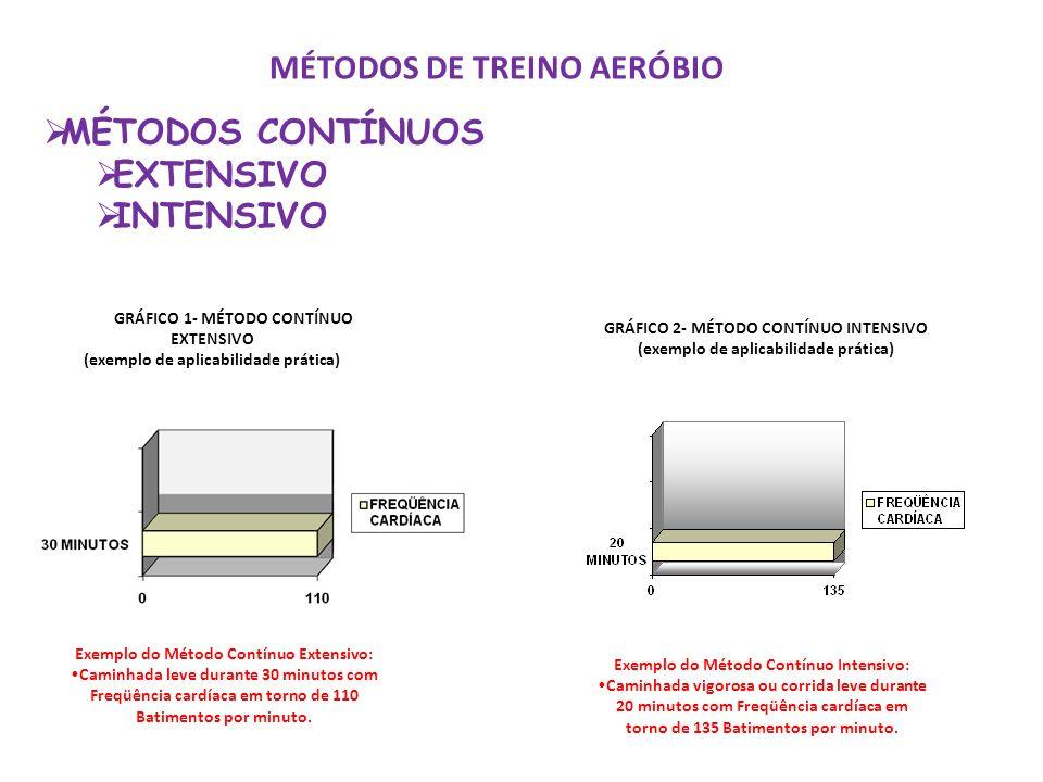 MÉTODOS DE TREINO AERÓBIO
