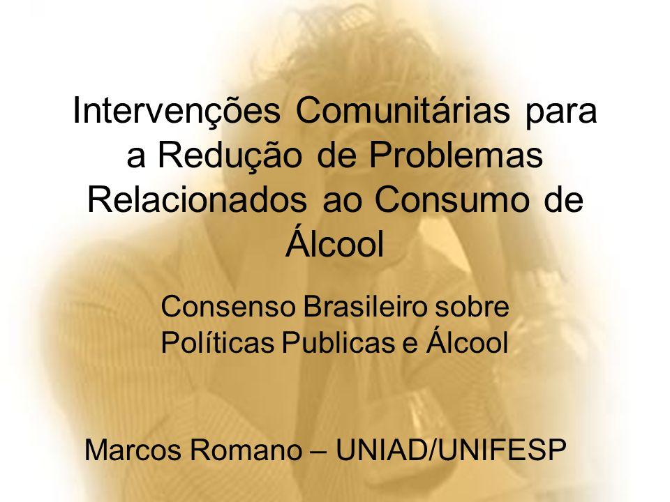 Consenso Brasileiro sobre Políticas Publicas e Álcool