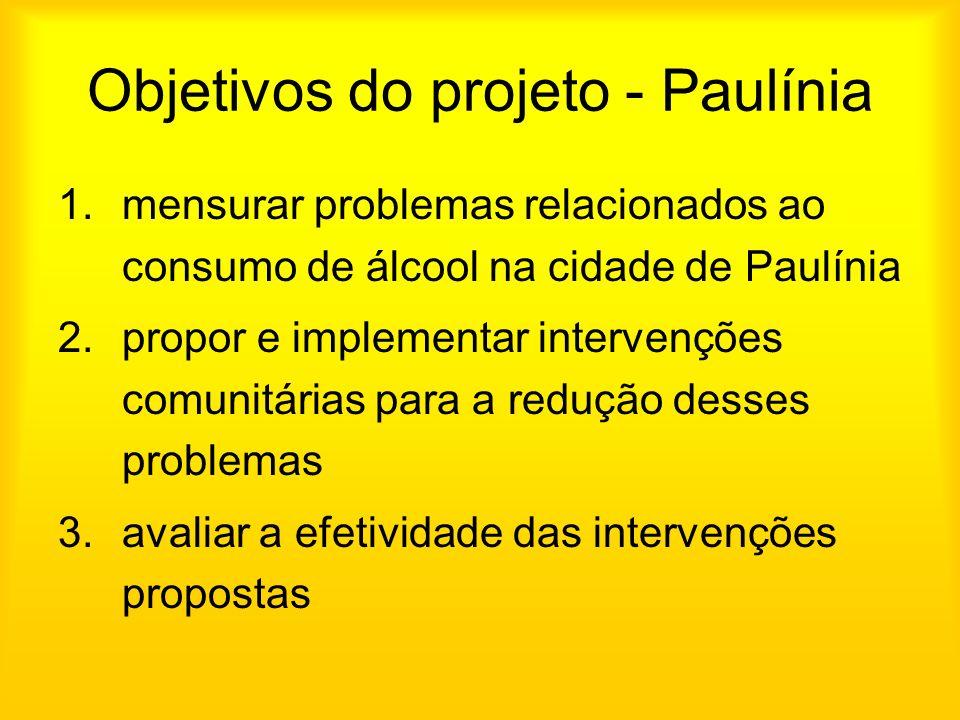 Objetivos do projeto - Paulínia