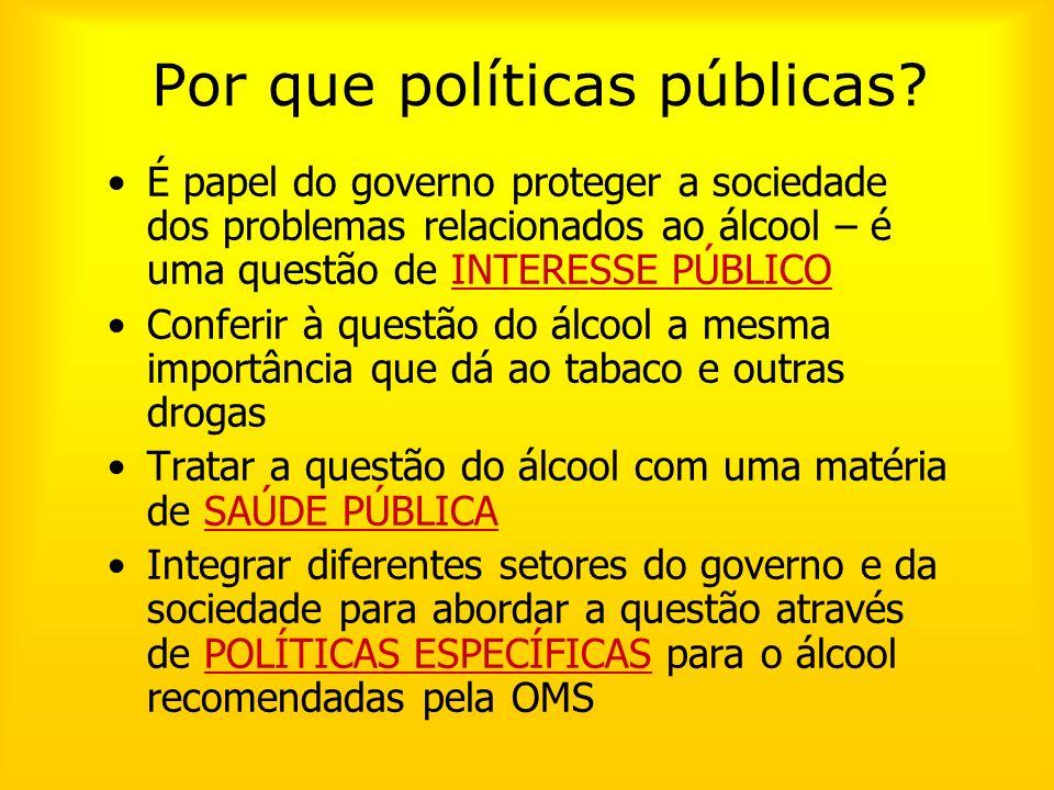 Por que políticas públicas