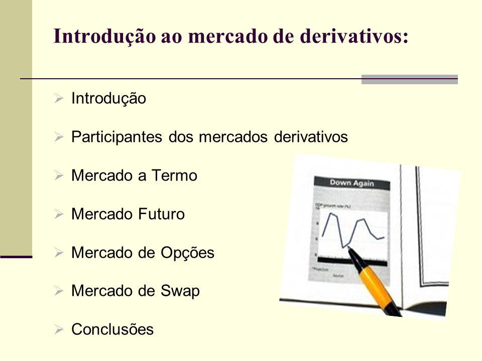 Introdução ao mercado de derivativos: