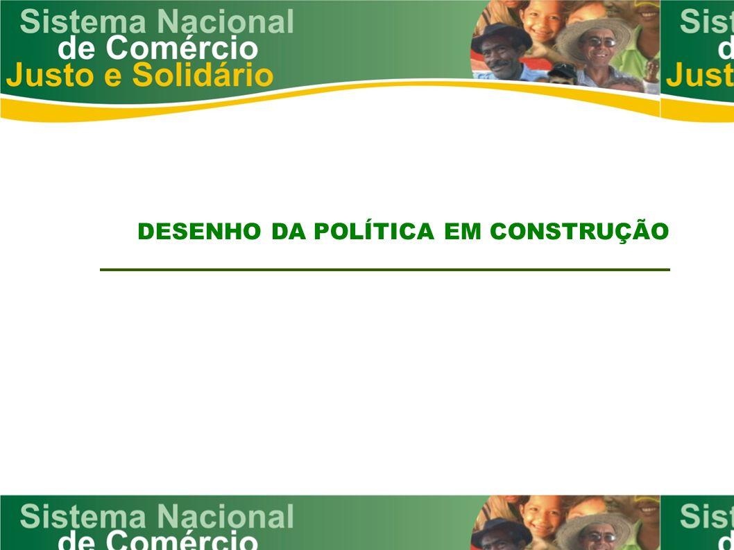 DESENHO DA POLÍTICA EM CONSTRUÇÃO