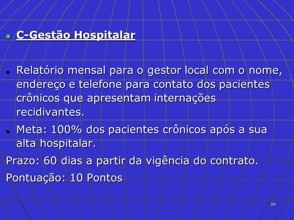 C-Gestão Hospitalar
