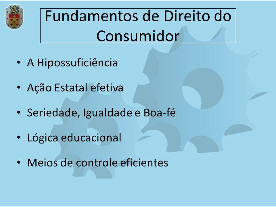Fundamentos de Direito do Consumidor