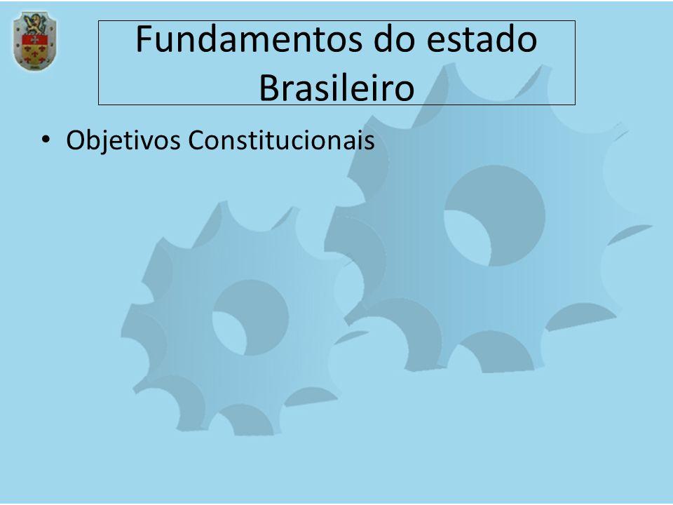 Fundamentos do estado Brasileiro