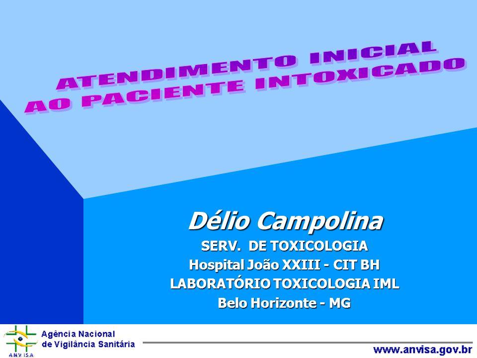 Hospital João XXIII - CIT BH LABORATÓRIO TOXICOLOGIA IML